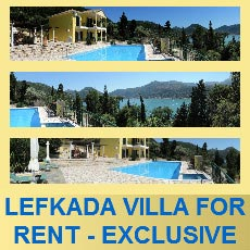 For 8 Private & Totally Secluded Villa, lefkada-rentals